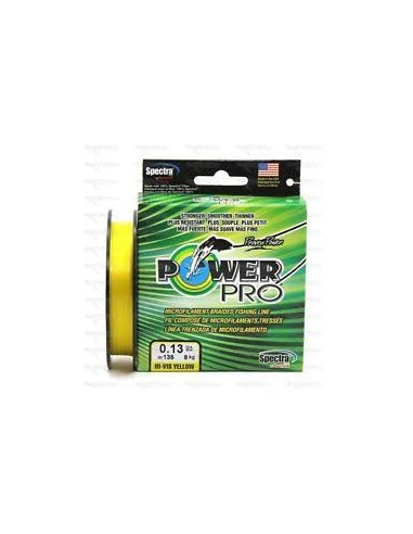 Power Pro 135m 0,10mm 5kg Yellow