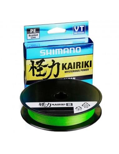 Shimano Kairiki 8 150m Mantis Green...