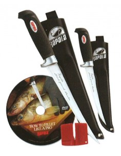 Soft Grip Fillet Knife Combo