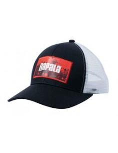 Sapca Rapala (negru / rosu)